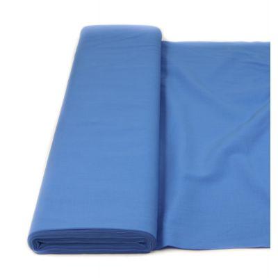 Baumwolle - Fahnentuch - uni - blau