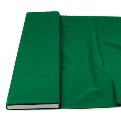 Baumwolle - Fahnentuch - uni - grasgrün