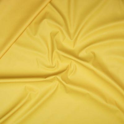 Regenjackenstoff - uni - gelb