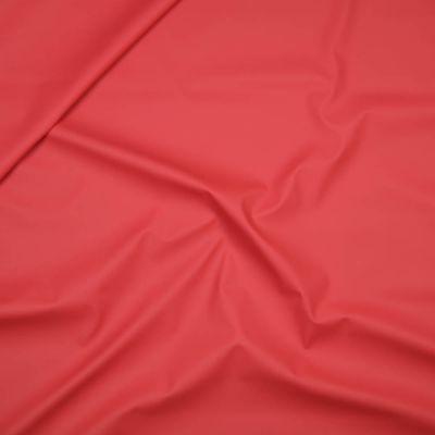 Regenjackenstoff - uni - rot