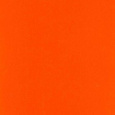 Plotterfolie - Flockfolie - orange