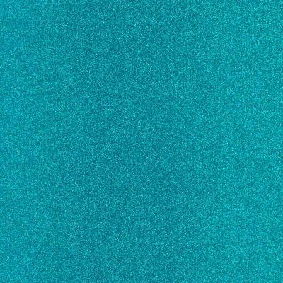 Plotterfolie - Flexfolie - Glitzerfolie - ozeanblau