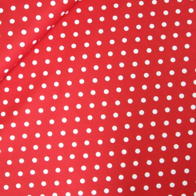 Baumwolle - Dots - rot