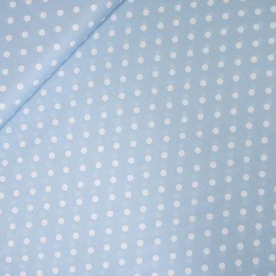 Baumwolle - Dots - hellblau