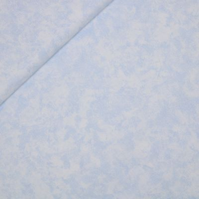 Baumwolle - Baby Boom - falsches Uni - blau