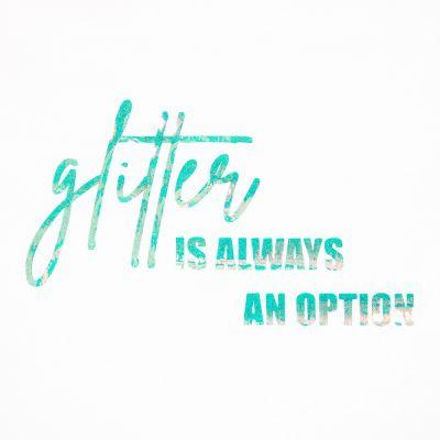 Plotterfolie - Opal-Flexfolie - Glitter