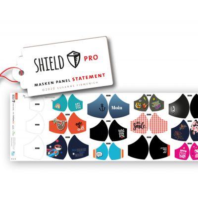 Hamburger Liebe - Maskenpanele Shield Pro - STATEMENT