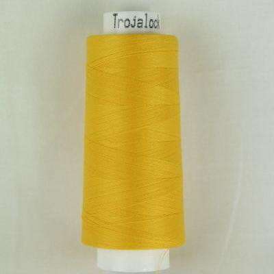 Amann Trojalock - Overlockgarn - gelb - 2500m