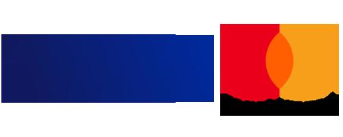 Logo Kreditkarten Visa Master